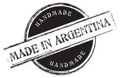 Handmade Robić w Argentyna ilustracji