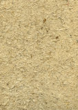 Handmade rough paper with straws in beige #2 Stock Image