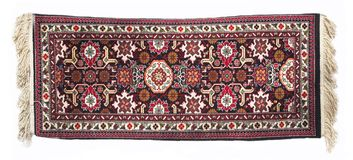 Handmade rug. From Ayzerbadzhan Stock Photo