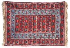 Handmade rug Stock Photo