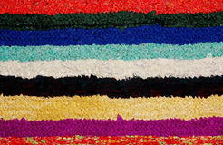 Handmade rug. Royalty Free Stock Image