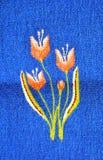 Handmade rug Stock Photo