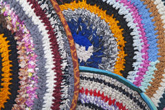 Handmade rugs Royalty Free Stock Image