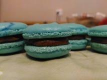 Handmade słodcy macarons Obraz Royalty Free