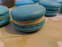 Handmade słodcy macarons Obraz Stock