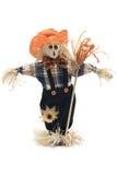 Handmade Scarecrow Stock Image