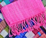Handmade scarf Royalty Free Stock Photos