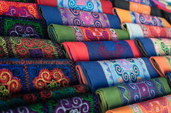 Handmade Scarves Stock Photos