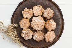 Handmade scones stock photo