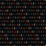 Handmade seamless texture - dashed line in rainbow colors. Perfect as background for greeting cards, business cards, covers, and vector illustration