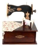 Handmade sewing machine Stock Photos