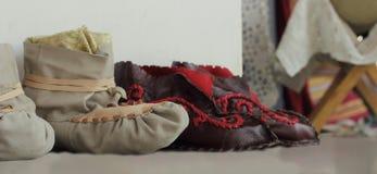 Handmade Shoes Stock Photography