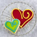 Handmade Shortbread Cookies Royalty Free Stock Photo