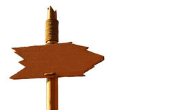 Handmade Signpost Stock Photos