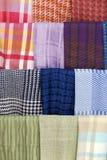 Handmade silk designs. stock photography