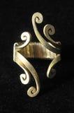 Handmade Silver Jewelry Royalty Free Stock Photo