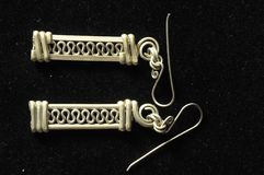 Handmade Silver Jewelry Royalty Free Stock Image