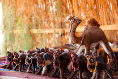 Handmade Sinai Bedouin Beads and Bracelets Stock Photography