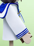 Handmade Small Figure of Child Dressed for First Communion. Detail. Stock Photography