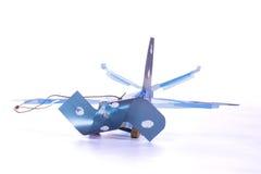 Handmade small plane Royalty Free Stock Image