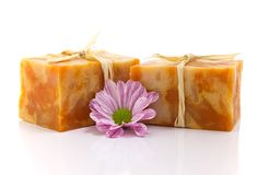 Handmade soap. Royalty Free Stock Photos