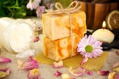 Handmade soap. Stock Image