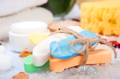 HANDMADE SOAP Stock Photos