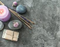 Free Handmade Soap And Spa Spiritual Smoking Sticks Royalty Free Stock Images - 95340469