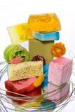 Handmade soap bars Stock Images