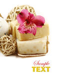 Handmade Soap closeup Royalty Free Stock Photography