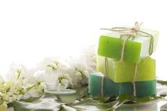Handmade Soap closeup Stock Photo