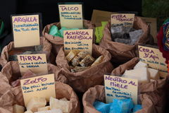 Handmade soap. Collection of natural soaps, hand made with spices, oils and essences Royalty Free Stock Photo
