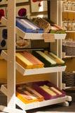 Handmade soap displayed at Grasse Stock Images