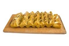 Handmade soap with honey Stock Photo