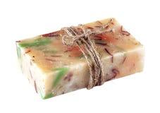 Handmade soap isolated Royalty Free Stock Photo