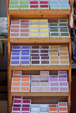 Handmade soap on local market in provence, france Stock Photo
