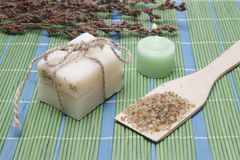 Handmade Soap with natural ingredients Royalty Free Stock Photos