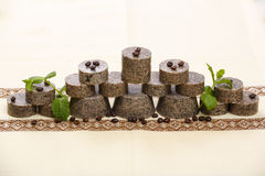Handmade soap stack Royalty Free Stock Photo