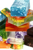 Handmade soap stock image