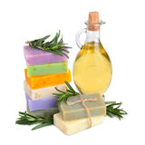 Handmade soaps royalty free stock images
