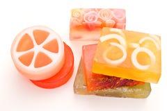 Handmade soaps royalty free stock photography