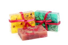 Handmade soaps Royalty Free Stock Image