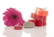 Handmade soaps Stock Images