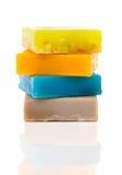 Handmade soaps Stock Photos