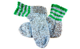Handmade socks Stock Photography