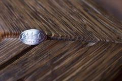 Handmade souvenir coin Royalty Free Stock Photography