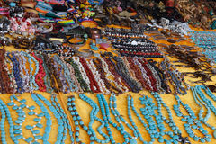 Handmade souvenir  in a market Royalty Free Stock Images