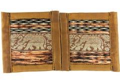 Handmade souvenir thailand art. Plate Royalty Free Stock Photos