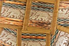 Handmade souvenir thailand art. Plate Royalty Free Stock Image