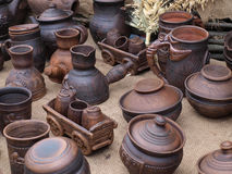 Handmade souvenirs Stock Photography